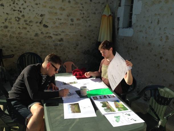 Al and Tom discuss our landscape plans