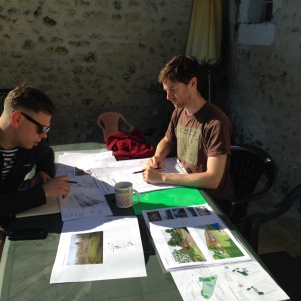 An Architect and a Landscape Architect working in harmony!