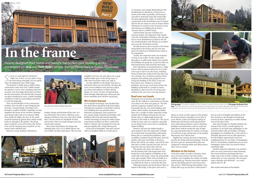 French Property News - The Timber Frame