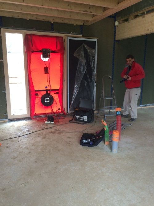 Air tightness test