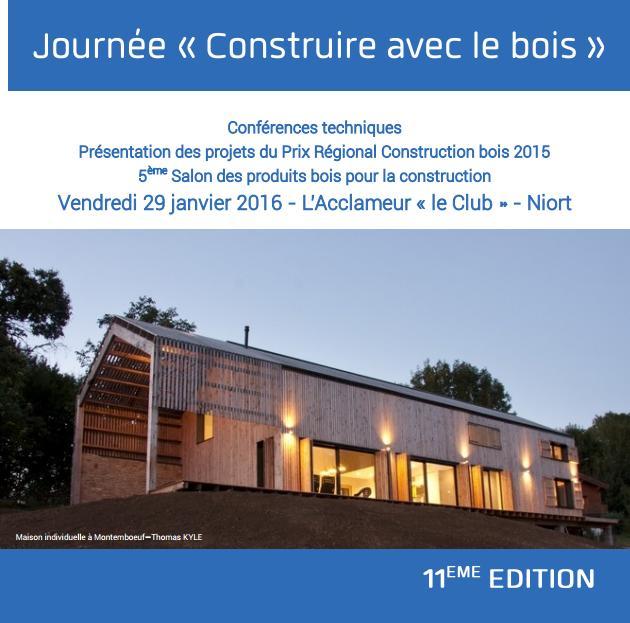 Présentation Des Projets Du Prix Régional Construction Bois 2015