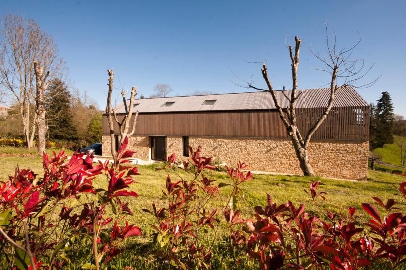 la maison bois, charente, timber, eco, holiday home, gite