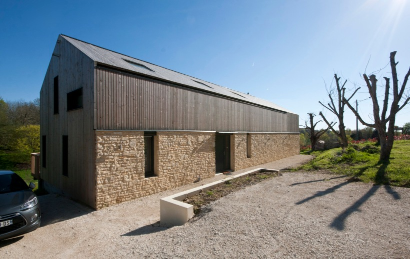 La maison bois, charente, montemboeuf, timber, eco, architect